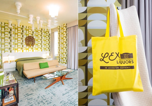 'O Gambito da Rainha' inspira quarto de hotel que tem peças de xadrez no teto