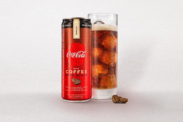 Coca-Cola com Café sabor baunilha, lançada nos EUA