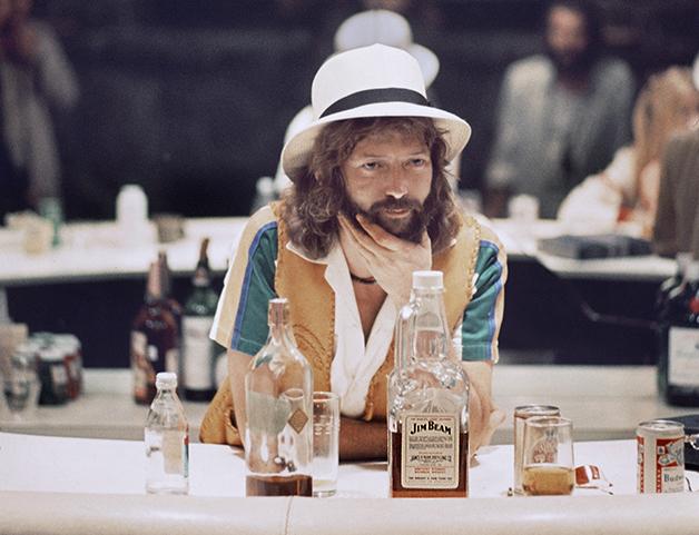 "Foto que seria utilizada na capa de ""No Reason To Cry"", de 1976"