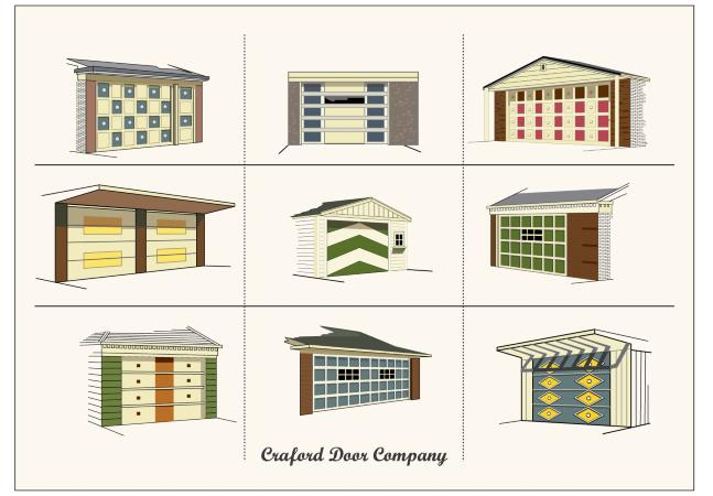 Esta coleção de portas de garagem modernistas é absolutamente maravilhosa