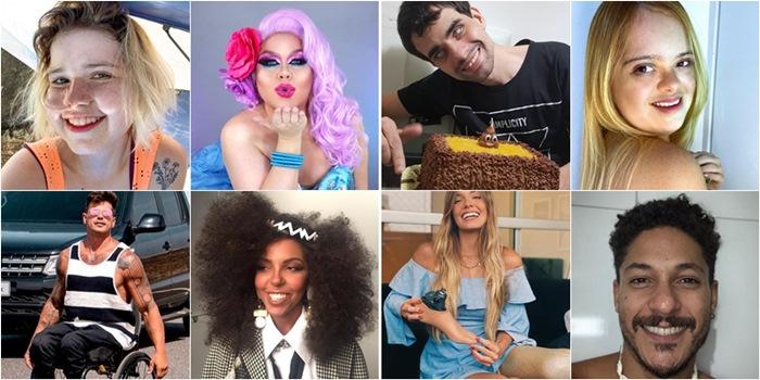 Influenciadores com deficiência; famosos no Instagram PCD