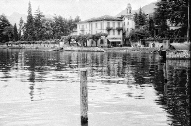 O Lago Como, ao norte da Itália, em foto revelada no filme