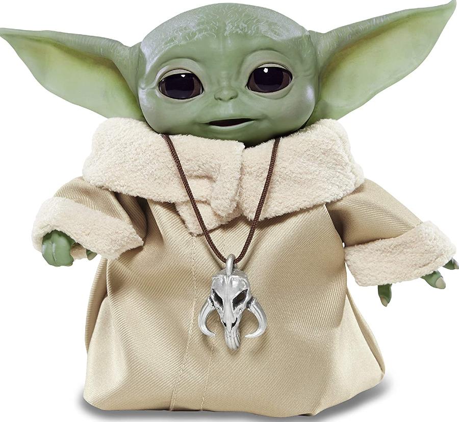Boneco Star Wars The Child (Baby Yoda) Animatronic Inspirado na Série The Mandalorian - Hasbro