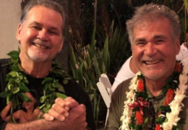 Amigos por 60 anos, eles não suspeitavam que eram, na verdade, irmãos