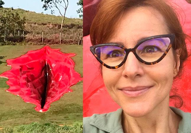 Criadora de vagina gigante em parque classifica críticas como 'mentalidade equivocada'