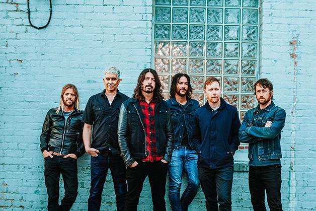 A banda Foo Fighters