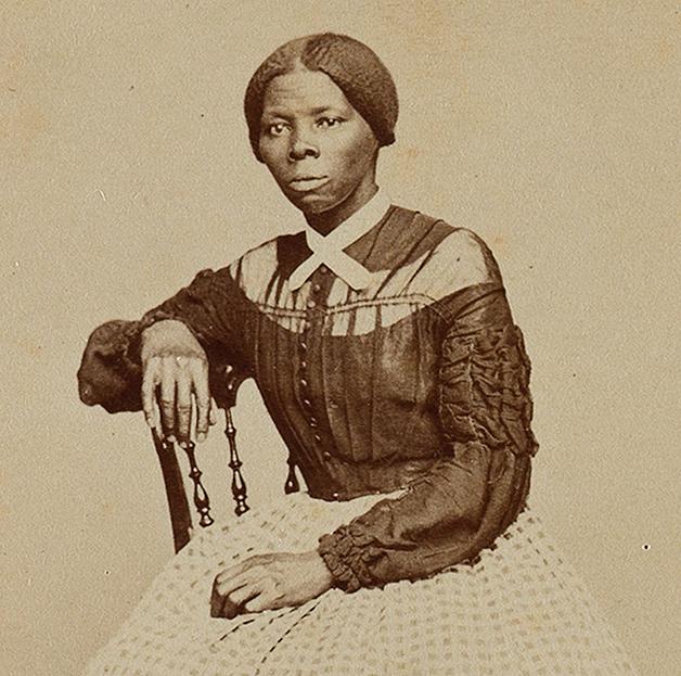 Tubman em meados da década de 1860, durante o período da Guerra Civil