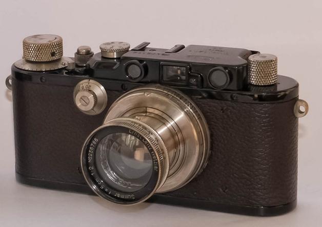 câmera Laica antiga