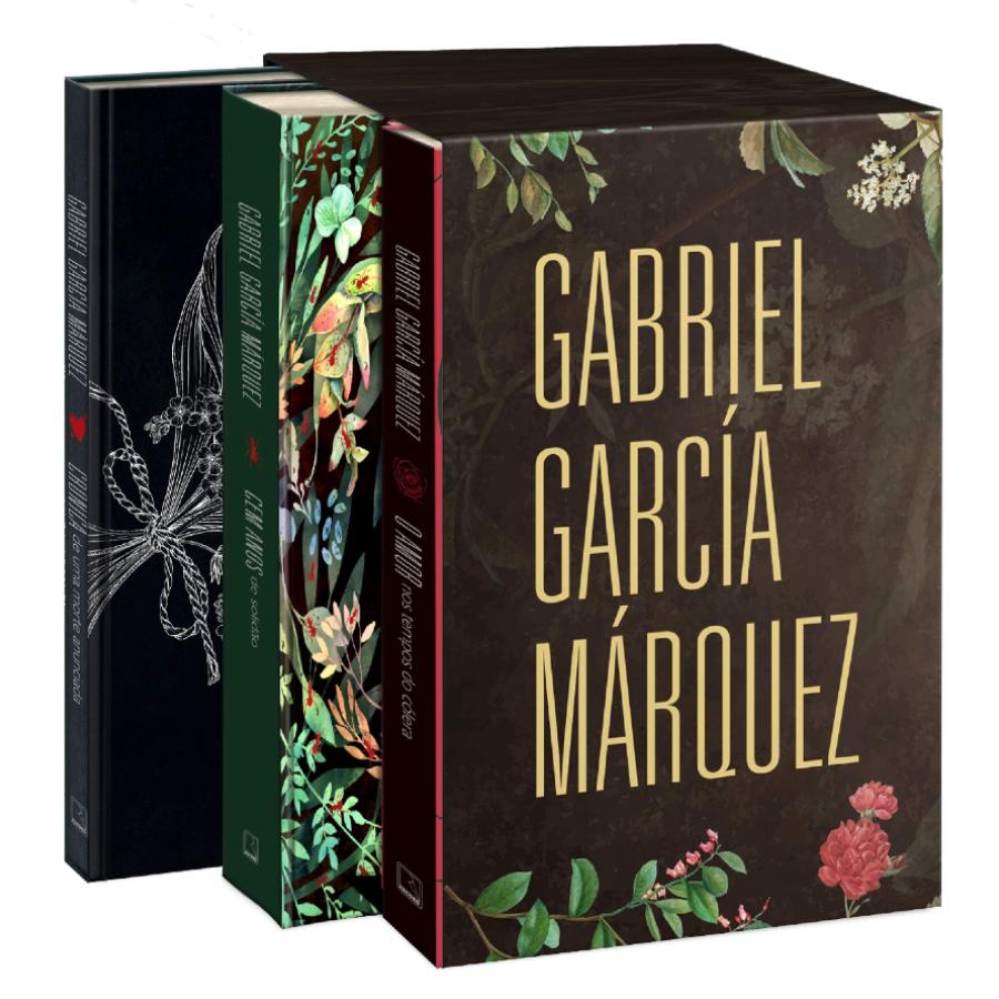 Imagem do box em homenagem a Gabriel García Márquez