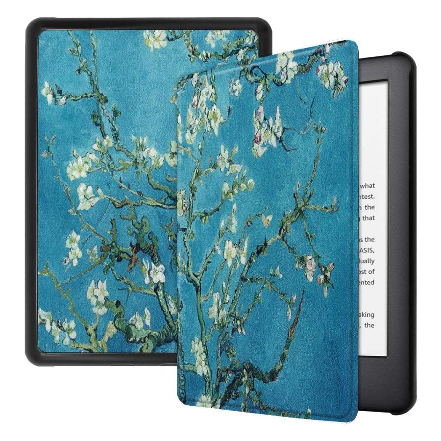 Imagem ilustrativa da capa do Kindle inspirada no quadro 'Amendoeira em Flor', de Van Gogh