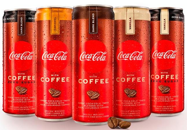 Coca-Cola lança versões com café brasileiro mas não as disponibiliza no Brasil