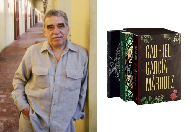 Gabriel García Márquez: box especial homenageia as três maiores obras do autor