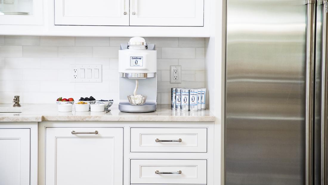máquina de sorvete para ter em casa