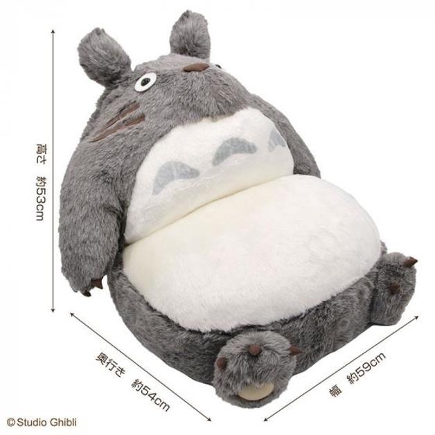 as medidas do sofá-dobrável do Totoro