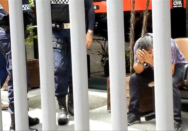 Homem é detido por filmar partes íntimas de mulher por baixo de saia