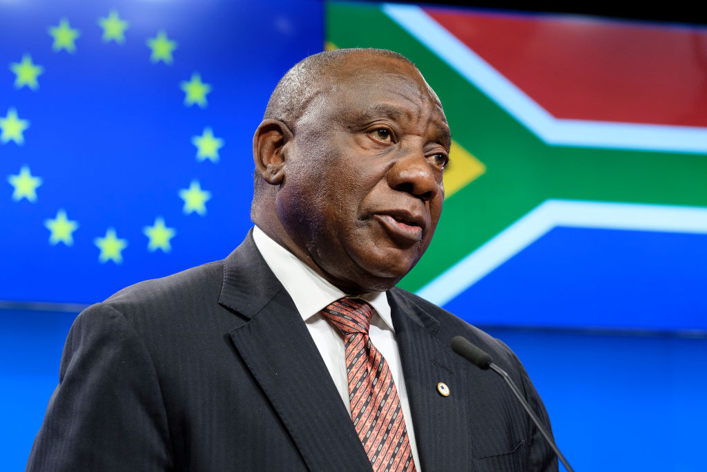 Presidente da África do Sul, Cyril Ramaphosa