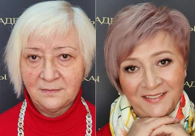Elas pediram criatividade à maquiadora e à cabeleireira e os resultados são brilhantes