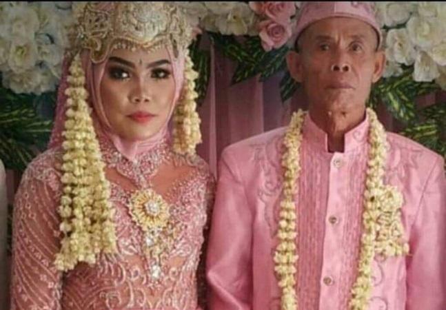 Idoso de 78 anos se separa de adolescente de 17 cerca de 22 dias após o casamento