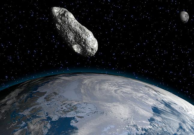 Nasa dá detalhes, incluindo data e horário em que asteroide pode atingir Terra