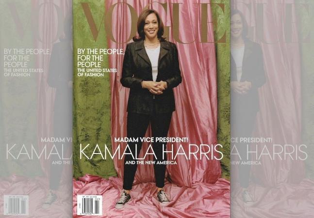 Vogue fala sobre capa com vice-presidente Kamala Harris e acusações de branqueamento