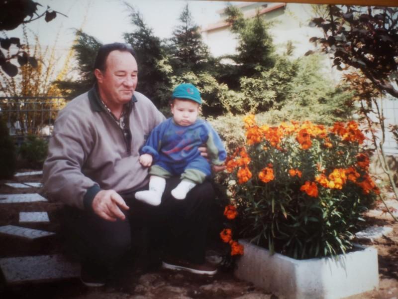 alessandro vitale com seu avô