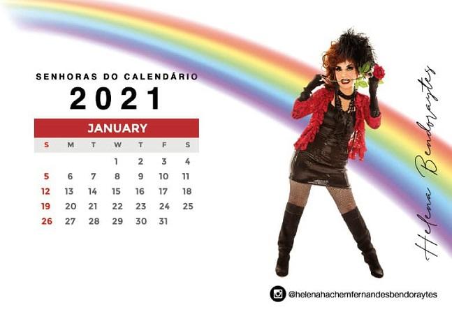 Drag queens são homenageadas em calendário que prega inclusão e diversidade