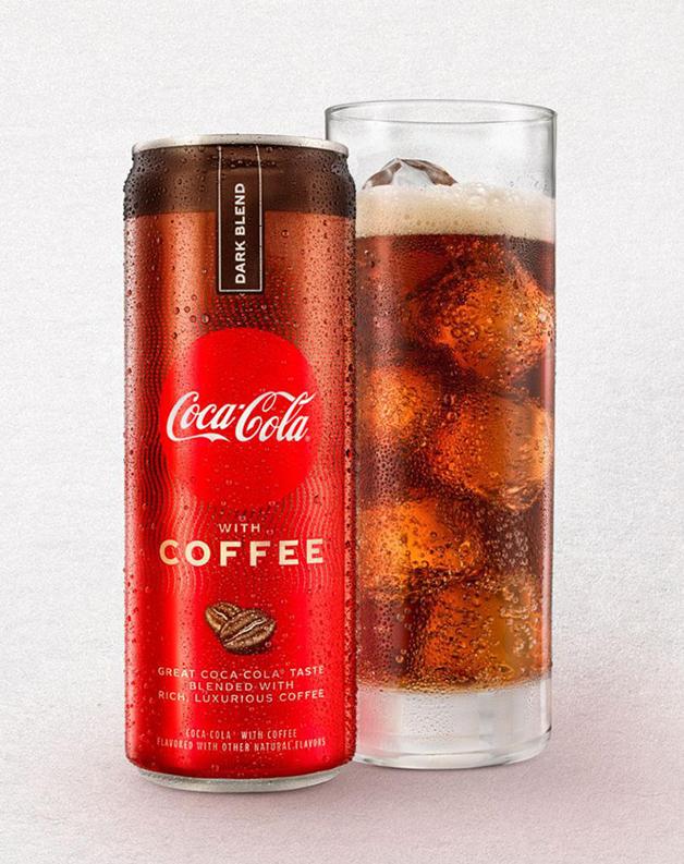 Coca-Cola com Café sabor mistura escura, lançada nos EUA