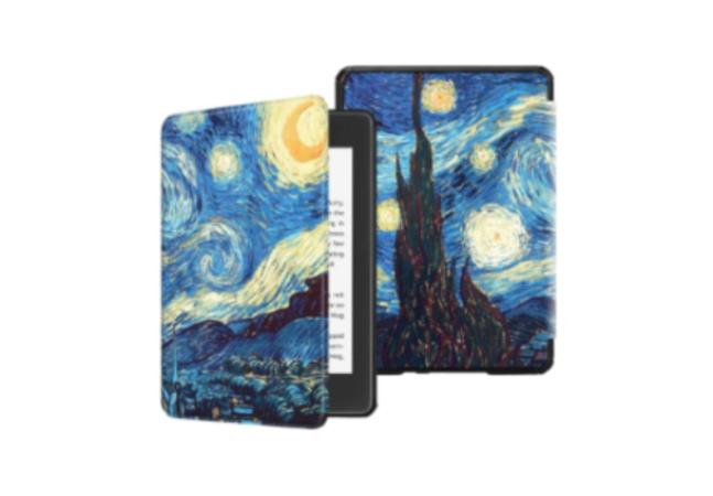 Estas capas para Kindle inspiradas em Van Gogh são pura arte