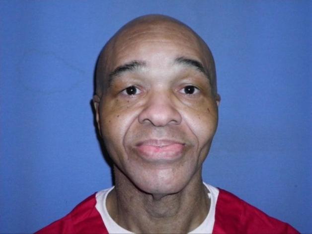 Eddie Lee Howard em foto recente tirada na prisão