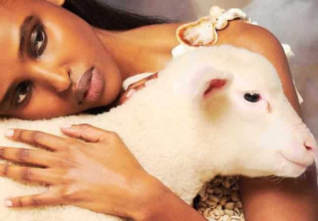 Vogue deixa humanos em segundo plano em ensaio inédito sobre animais