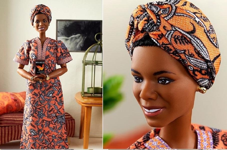 Mattel lança Barbie em homenagem a Maya Angelou