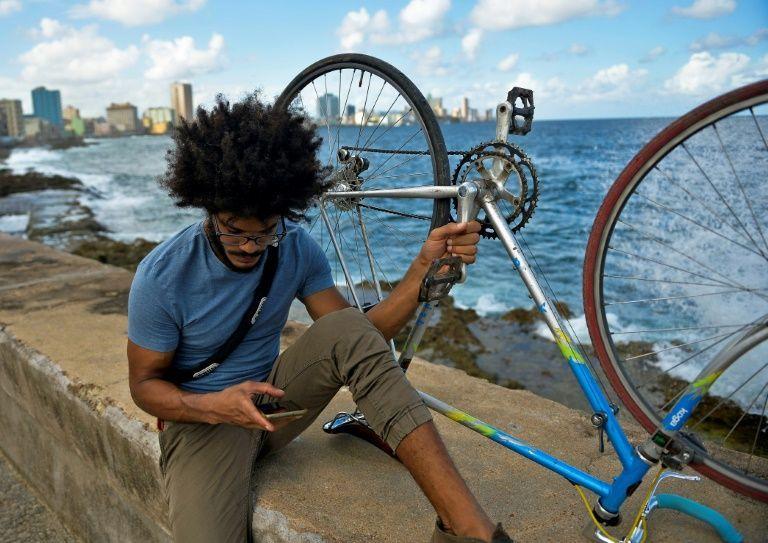 Yasser Gonzalez cicloativista em Cuba