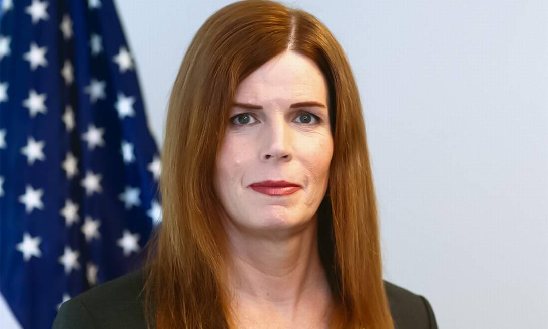 Skelly a primeira veterana transgênero a ser nomeada por um presidente dos Estados Unidos.