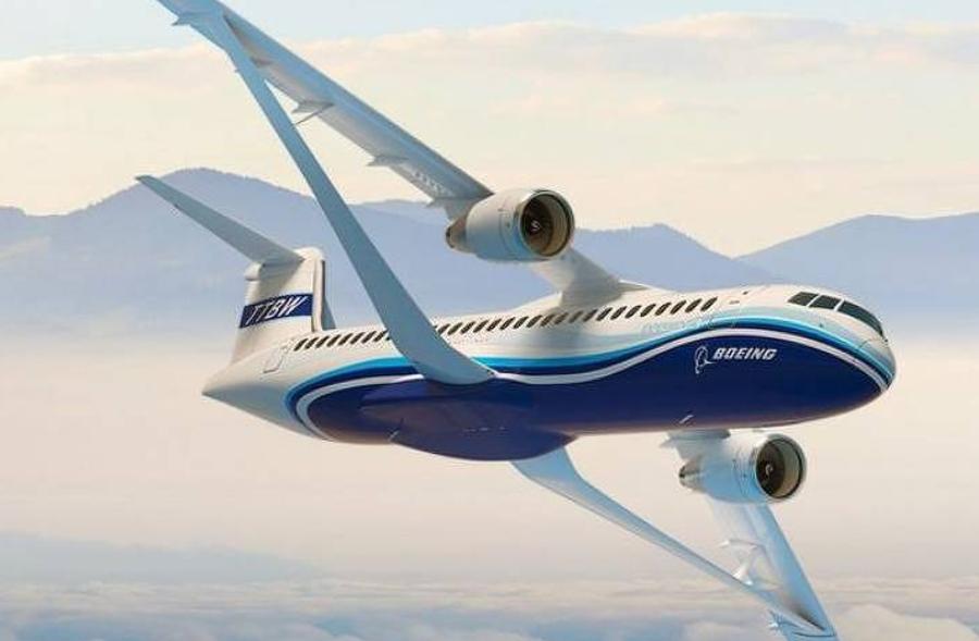 Projeto de avião menos poluente da Boeing