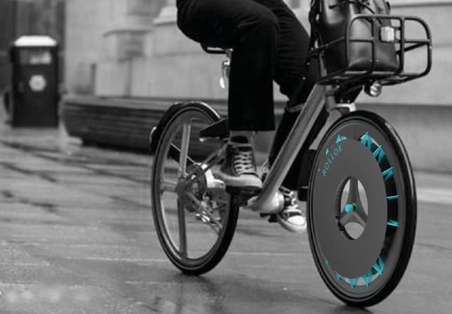 Designer inglesa cria filtro para rodas de bicicleta que retém poluição do ar