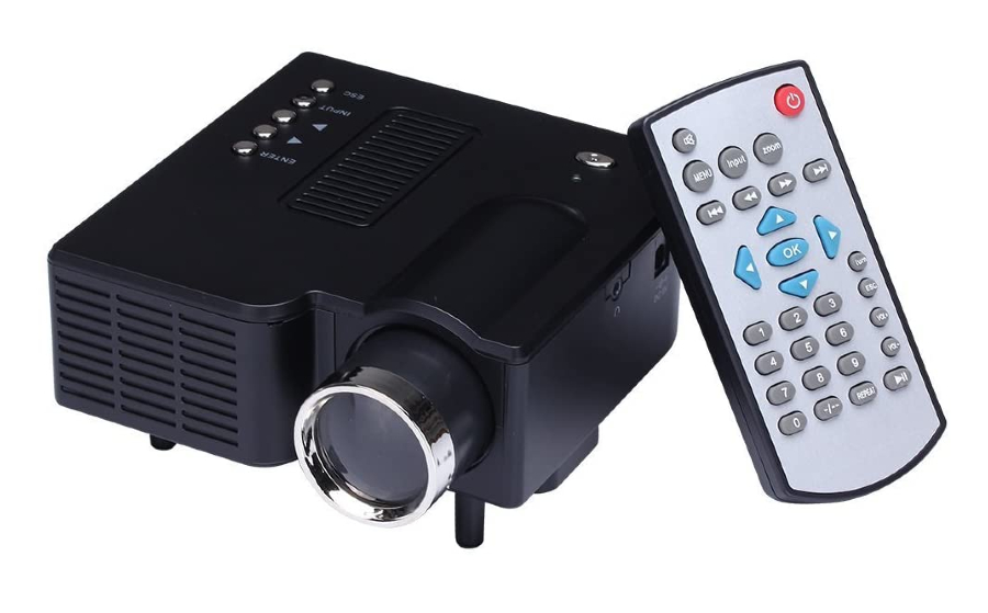 A imagem mostra um miniprojetor UC 28 FP3224B1-IV1 (HD)