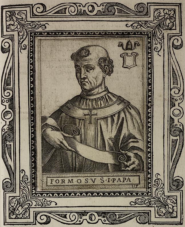 Ilustração do papa Formoso