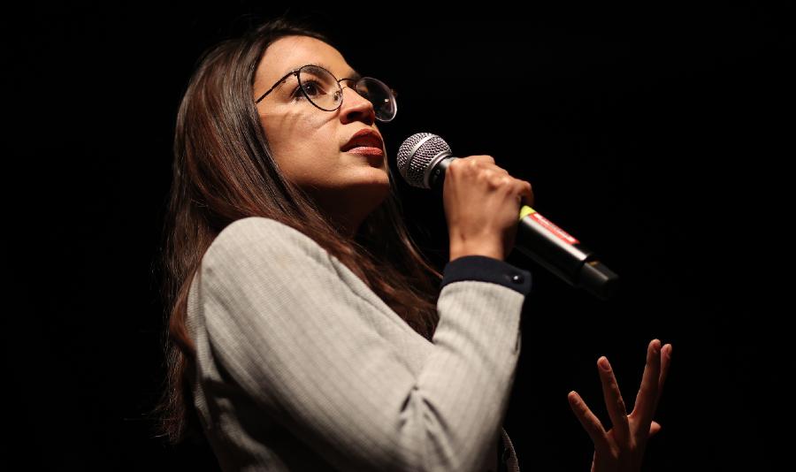 Deputada democrata Alexandria Ocasio-Cortez