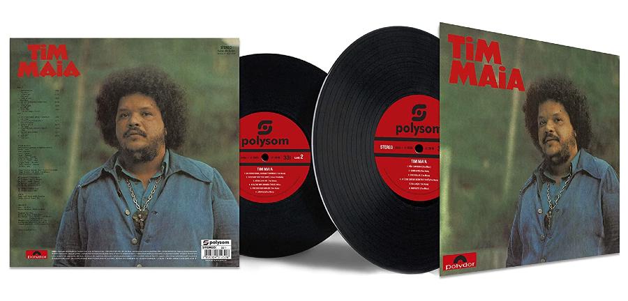 Capa do disco de vinil 'Tim Maia (1973)', de Tim Maia