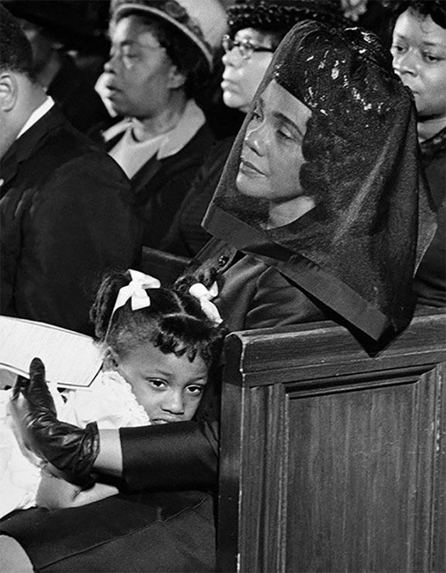 """""""Coretta Scott King"""", foto de Moneta Sleet Jr. (1969)"""