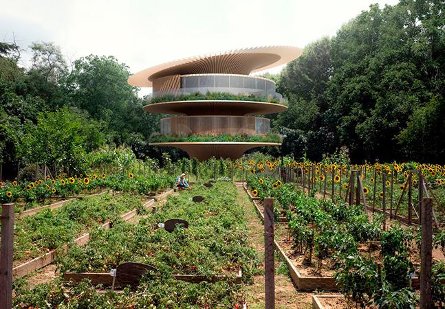 As 'casas girassóis' de Koichi Takada que imitam as flores para captar mais energia solar