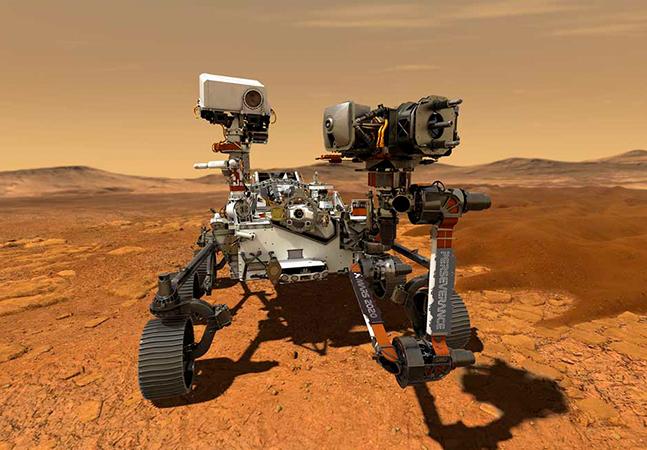 Marte viveu congestionamento com missões espaciais simultâneas de 3 países diferentes