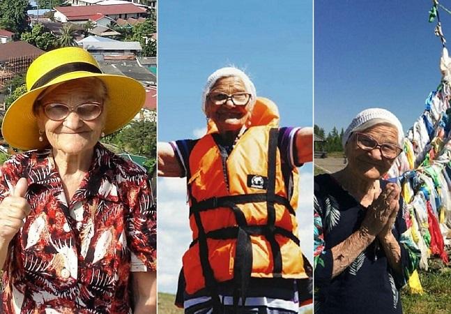 Conheça Elena Erkhova, a senhora que aos 91 anos rodou o mundo sozinha
