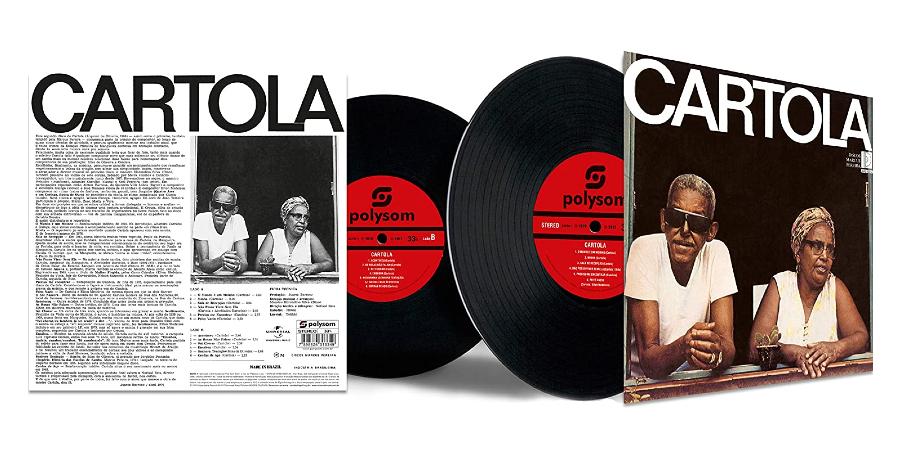 Capa do disco de vinil 'Cartola (1976)', de Cartola