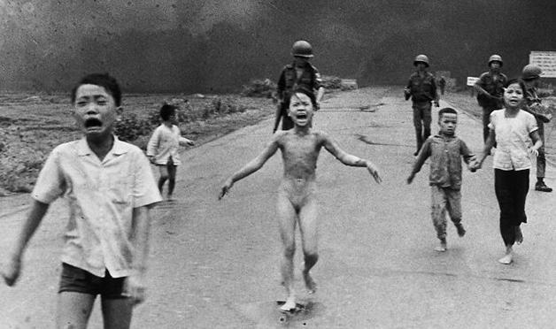 """""""The Terror of War"""", foto de Nick Ut (1973)"""