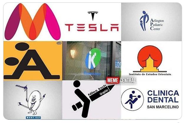 Outros logotipos sugestivos por todo o mundo