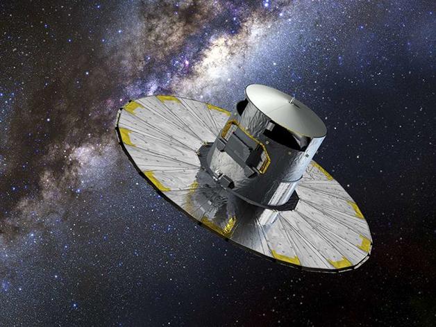 Representação do telescópio Gaia