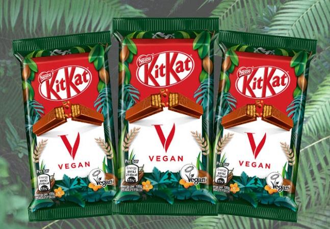 Nestlé anuncia Kit Kat vegano após dois anos de pesquisa e desenvolvimento