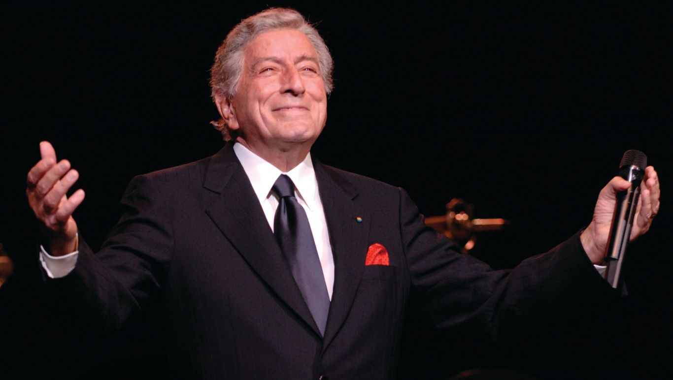 Tony Bennet no palco