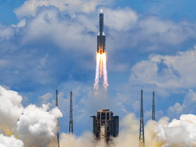 Lançamento da sonda chinesa para Marte